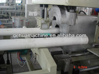 Auto spigot socket pipe machine