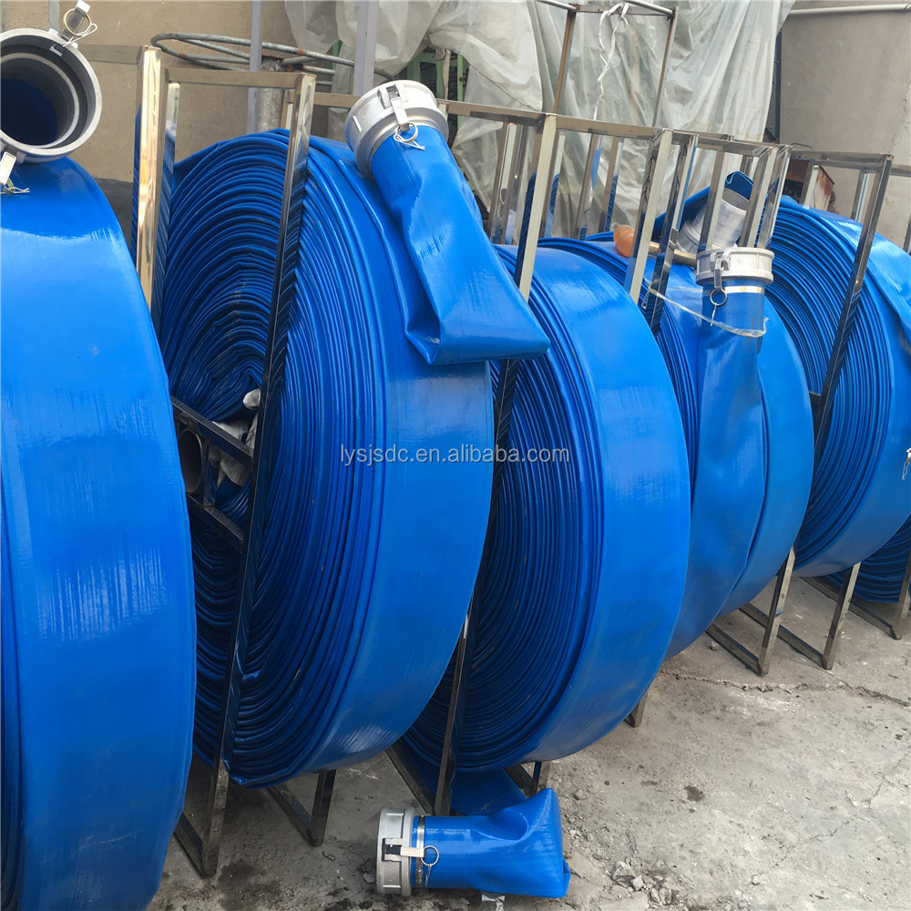 Pvc Water Systems : Pvc lay flat pipe irrigation system for water discharge