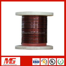 Polyimide-f46 Combined Film Wrapped Sintered Copper Flat Magnet Wire Insulation Wire