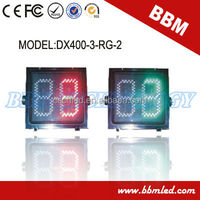16inch red green led countdown signal traffic light