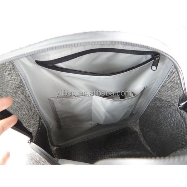 Waterproof Backpack, waterproof fashion cashmere TPU backpack for outdoor activity and travel