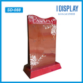 Customized Advertising Cardboard Paper Hanging Peg Hooks Display Rack