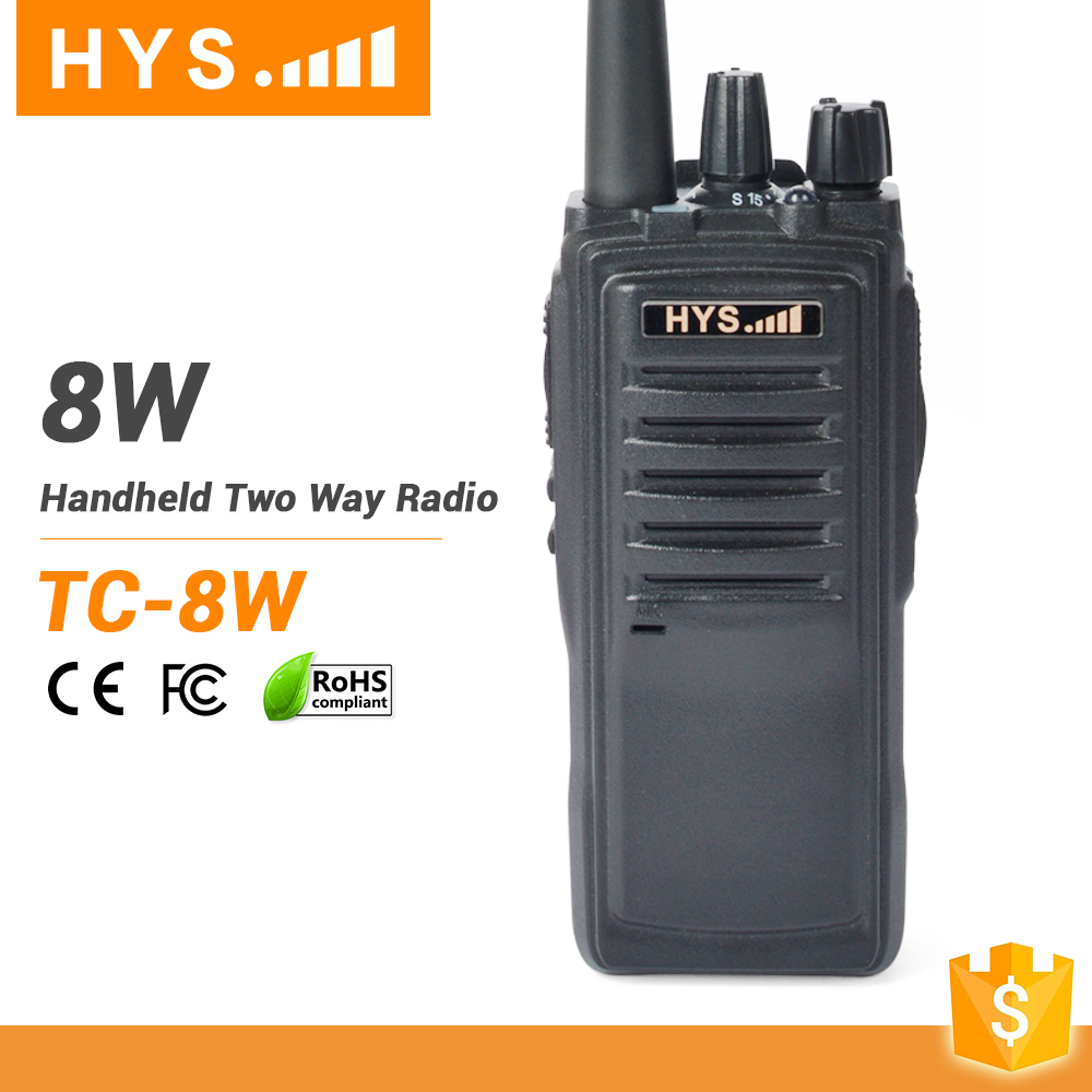 Public Network Most Powerful 8 Watts Radio Frequencies Walkie Talkie Police Radio For Sale