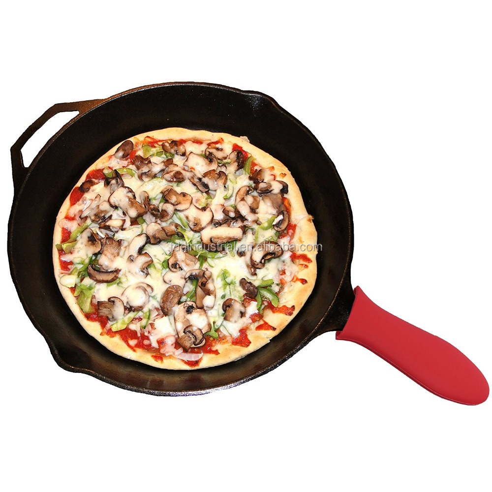 Skillets or Griddles, Metal, Aluminum, Ceramic Or Enameled Silicone Cookware Handles