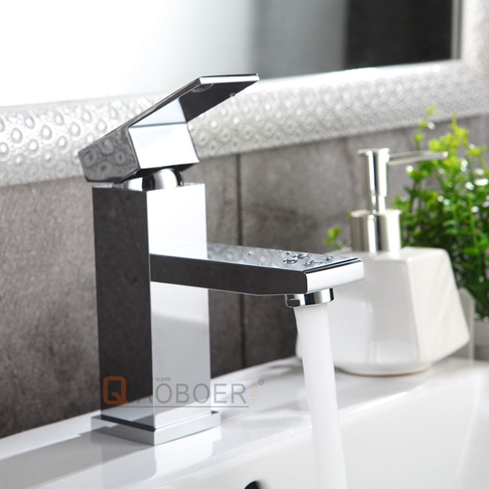 Wholesale chrome tab bathroom sink faucets for import