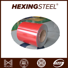 Competitive Price Prepainted GI Steel Coil/PPGI/RAL 2012 Color Coated Galvanized Steel Sheet