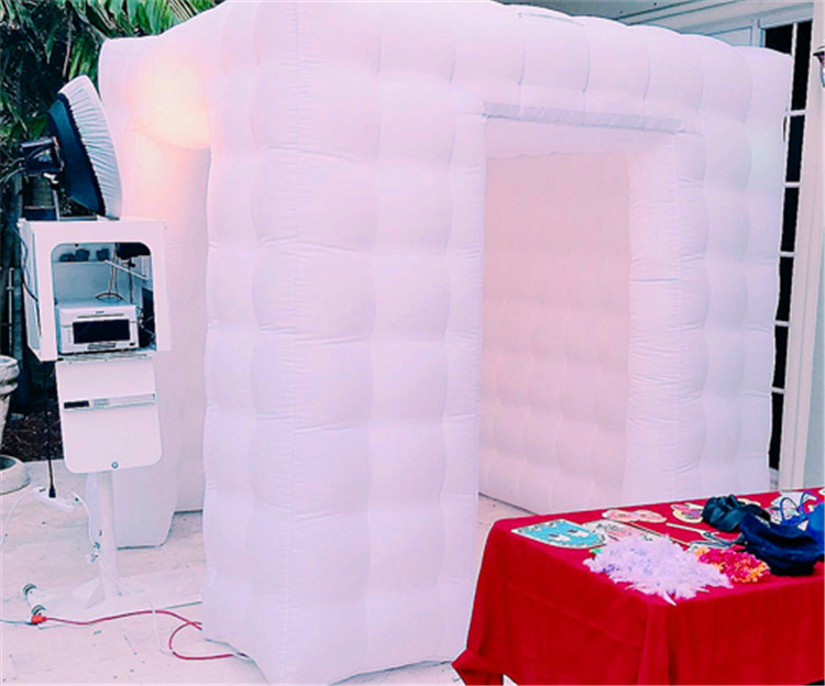 Indoor inflatable PVC tarpaulin photo booth