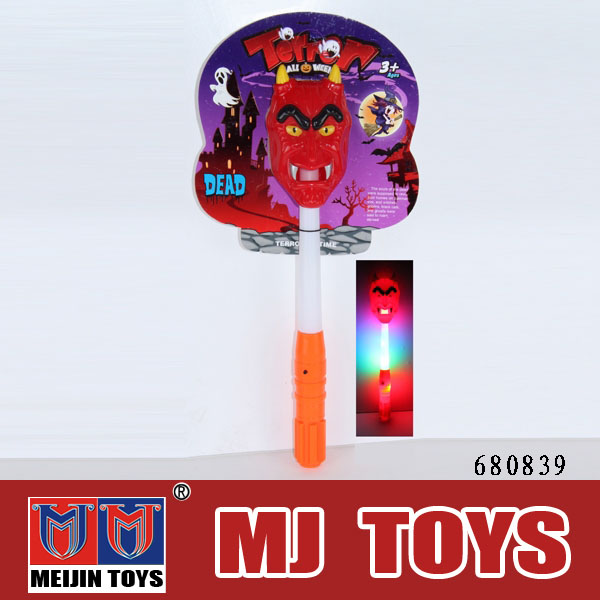 halloween wholesale light up led flashing foam stick