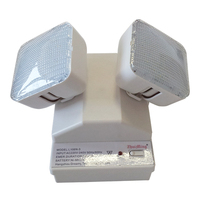 Twin Spot Led Rechargeable Wall Mounted Emergency Lights