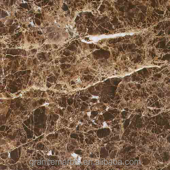 Marron imperial marble tile for marble floor and skirting with low price