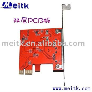 PCI express USB3.0 expansion card 2 ports