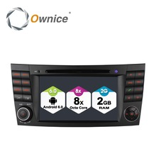 Ownice Android 6.0 Octa Core 32GB ROM Car GPS Navigation System for E-Class W211 Support DAB OBD