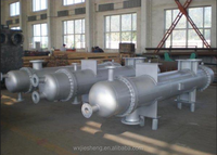 304/316l stainless steel shell and tube heat exchanger