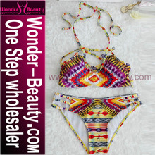 Colorful Brazilian Sexy Open Transparent Girl Bikini Manufacturer