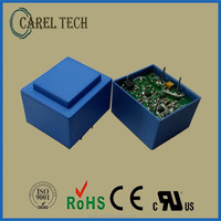 CE, ROHS approved PCB mounted 110V ac 3.3V dc converter transformer