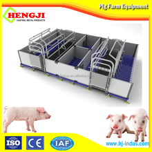 Obstetric table pig farm house applied to livestock farrowing crate