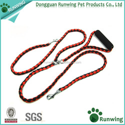 No-Tangle Free Dog Leash Double Leash 1.4m/4.6FT Length Dog Rope for Walking and Training 2 Dogs