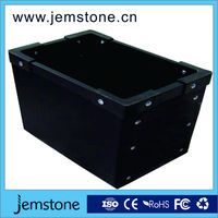 plastic handles corrugated packaging boxes