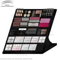 Weitu eyeshadow display stand acrylic cosmetic display for eyeshadow blusher acrylic cosmetic display stand