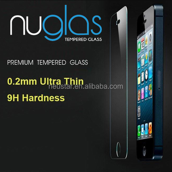 Nuglas Cell Phone Screen Protector Mobile Phone Screen Protectors For iphone5s Screen Protector For iphone 5 5G