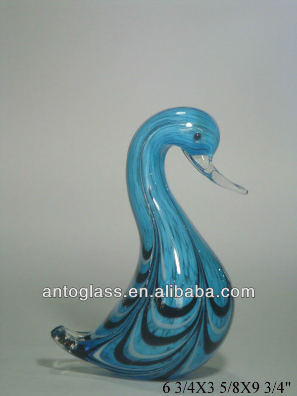 decorative glass birds