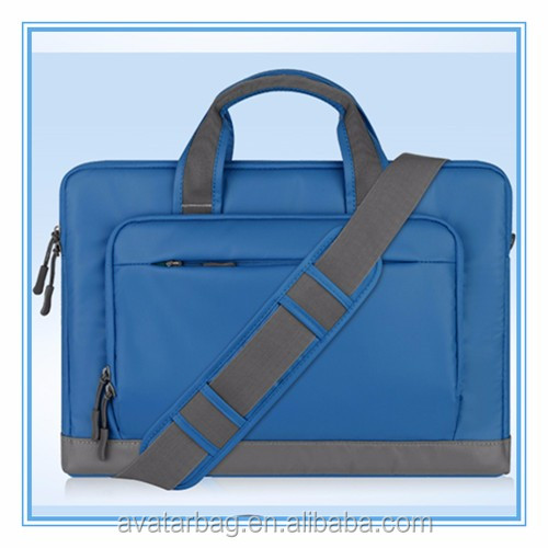 Oxford Cloth Messenger shoulder Briefcase hand bag For iPad Pro/Macbook/Asus/Lenovo for Men/Women/Business blue