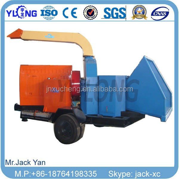 Moibile wood chipper machine diesel wood chipper