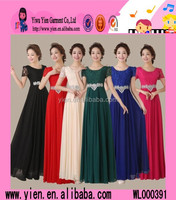2015 China Supplier OEM Selling Cheaper Evening Dress Wholesale Hot Long Style Ladies Bridesmaid Party Dress