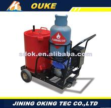 OKGF-50 plain radial,truck mounted asphalt crack sealing machinery