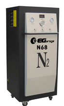 Nitrogen generator & tire inflator with heavy model
