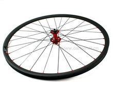Carbon 29er bicycle wheels, mountain bicycle carbon wheel with best Sapim spokes