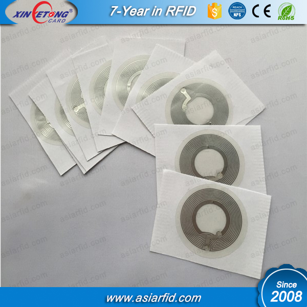 China Factory supply inlay NFC inlay/sticker Ntag 203 213 216 chip