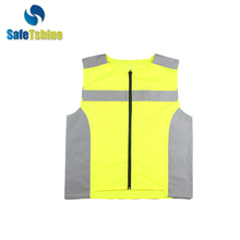 Superior quality MOQ 200 horse riding yellow safety vest