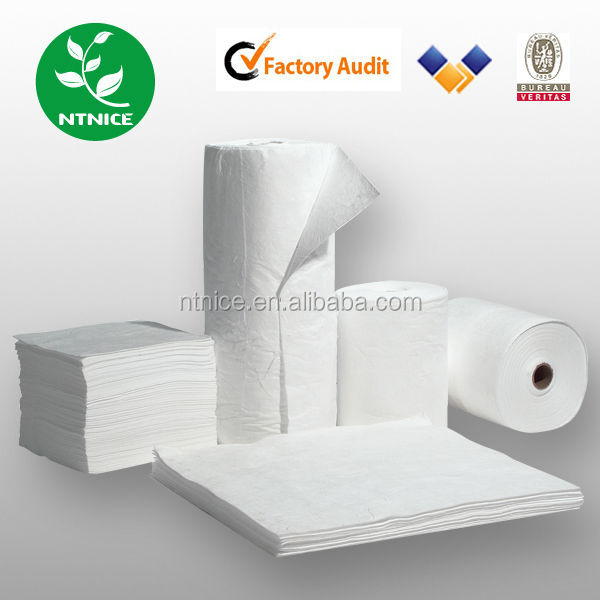 pp non woven oil absorbent blanket/pad