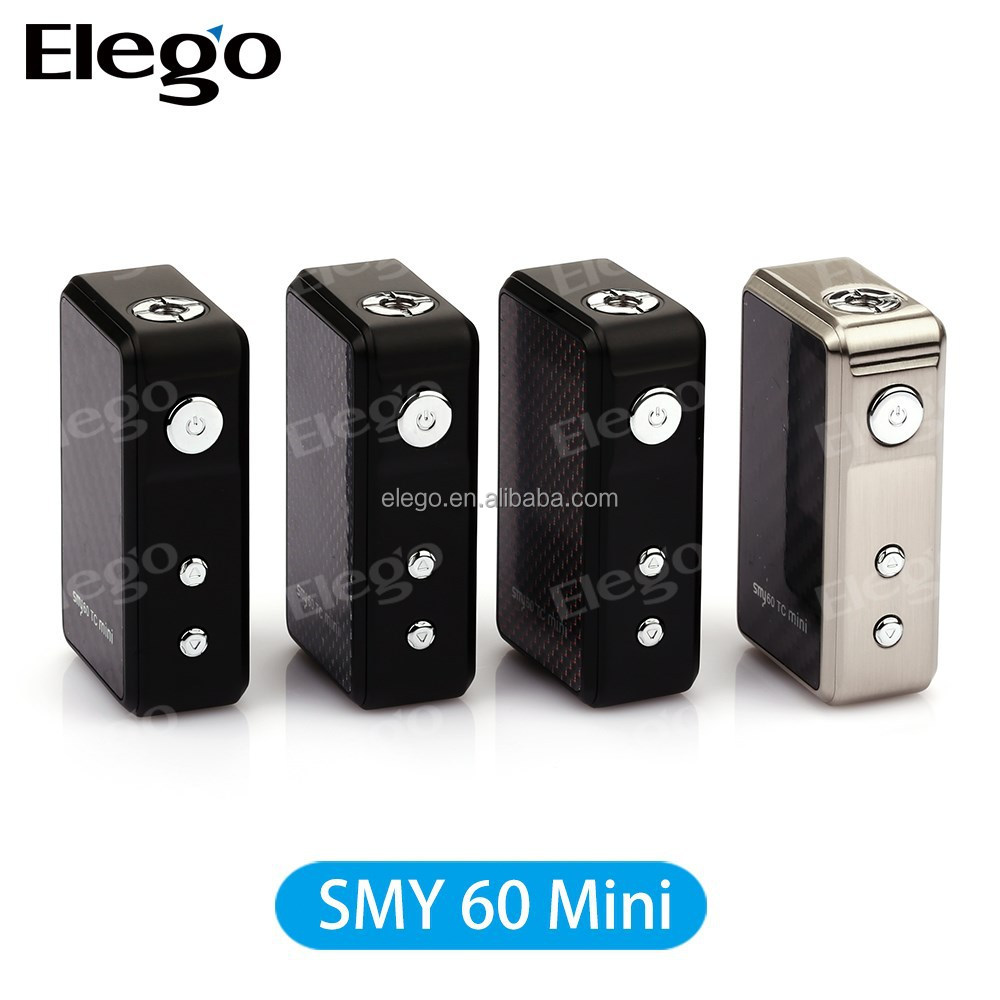 Big Buying Huge Variable Watage Mini Carbon Fiber Box Mod SMY60 SMY 60