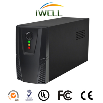 IWELL brand BSY series 500VA/300W offline UPS with battery