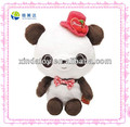 Cute panda with hat soft toy