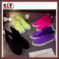 soft lady summer flat canvas shoes