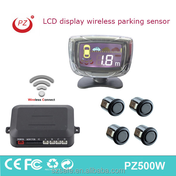 LCD parking sensor wireless car blind spot radar sensor