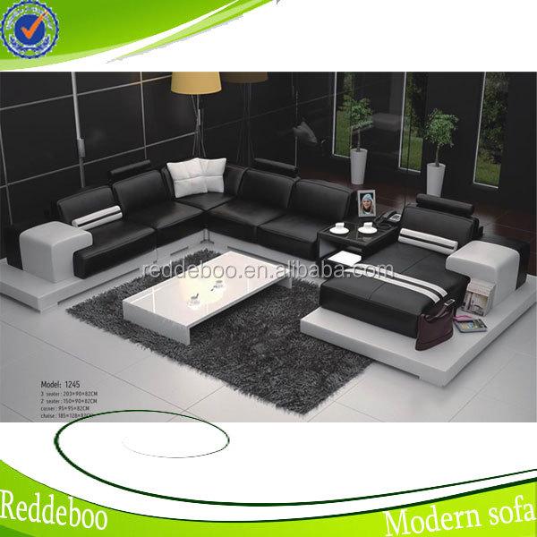 높은 품질의 현대적인 스타일 단단한 나무 거실 가구 소파 1245 ...