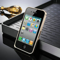 mass production case for iphone 4, metal aluminum bumper case cover for iphone 4/4s