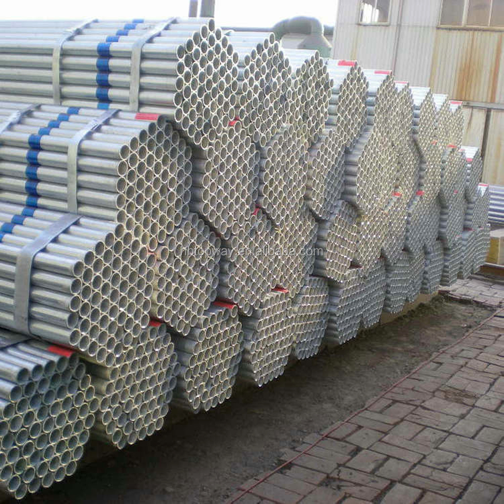 BS1139 Scaffolding tube / gi pipe seamless pipe sizes galvanized steel hollow sections