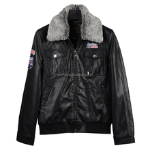 Factory cheap price customed high quality pu men coat leather jackets/Winter Jacket OEM ODM