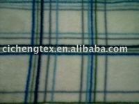 blanket fabric,winter wear two side brush one side antipilling polyester polar fleece printed fabric
