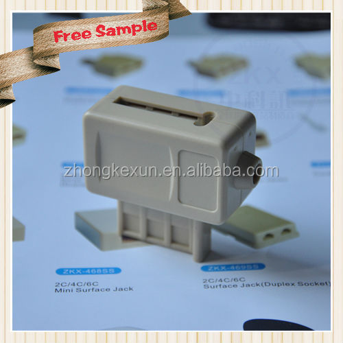 Manufacturer Directly Supply French Plug with US Jack
