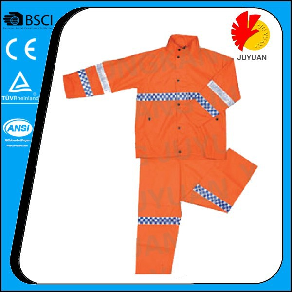 ENISO 20471 waterproof work winter coveralls