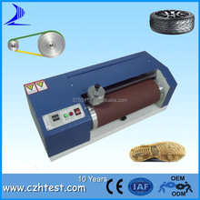 Din abrasion resistance test instrument for rubber industry