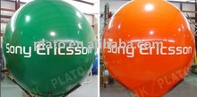 2012 hot!! Advertising Inflatable helium sphere ball