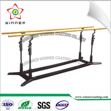 Outdoor Use Lab/Sport/Fitness Equipment thermoplastic electrostatic RAL9005 black color sand effect powder coating <strong>paint</strong>