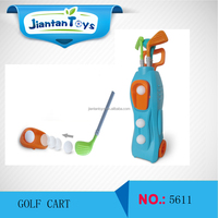 Indoor Plastic Kids Toys Golf Play Set